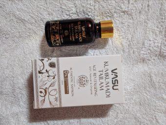 Vasu Age Revitalizing Kumkumadi Tailam -Best for people with ageing skin-By mrunalip
