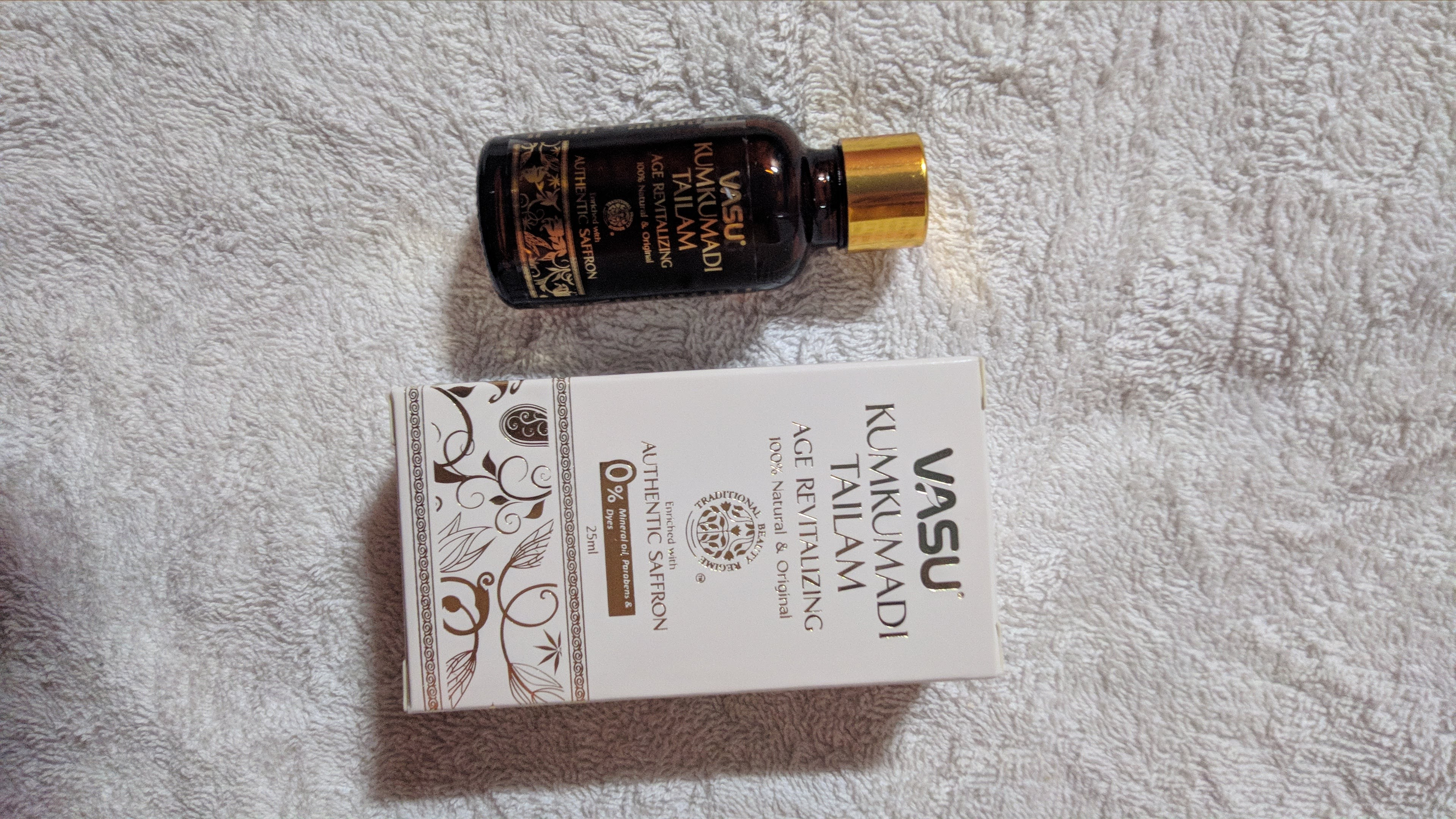 Vasu Age Revitalizing Kumkumadi Tailam-Best for people with ageing skin-By mrunalip