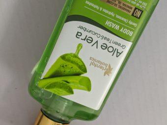 Oriental Botanics Aloe Vera Green Tea & Cucumber Body Wash pic 3-Great for Soft, Supple Skin-By akshipandita