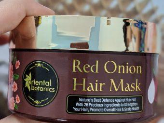 Oriental Botanics Red Onion Hair Shampoo Conditioner Oil Mask pic 4-Best Ever Kit-By akshipandita