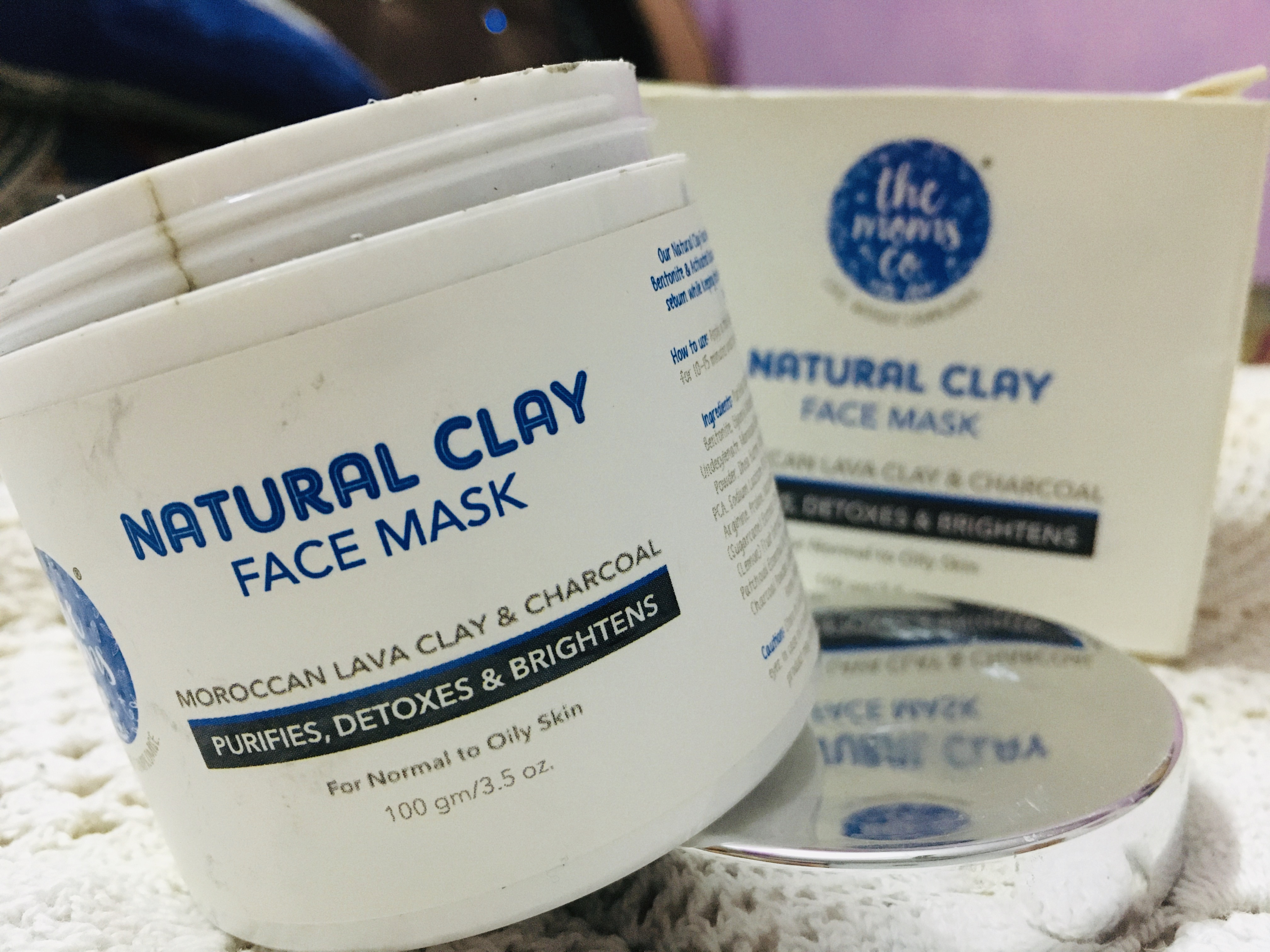 The Moms Co. Natural Clay Face Mask-Best clay mask-By seema11dhiman