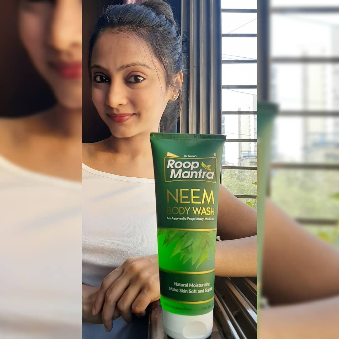 Roop Mantra Neem Body Wash-Transform your daily cleansing routine with Roop Mantra Neem Body Wash-By reshma_shaikh