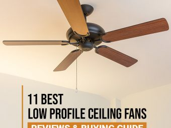 11 Best Low Profile Ceiling Fans (2020) – Reviews And Buying Guide