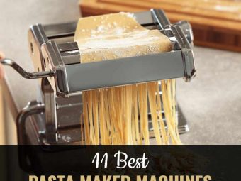 11 Best Pasta Maker Machines (2020) – Reviews And Buying Guide