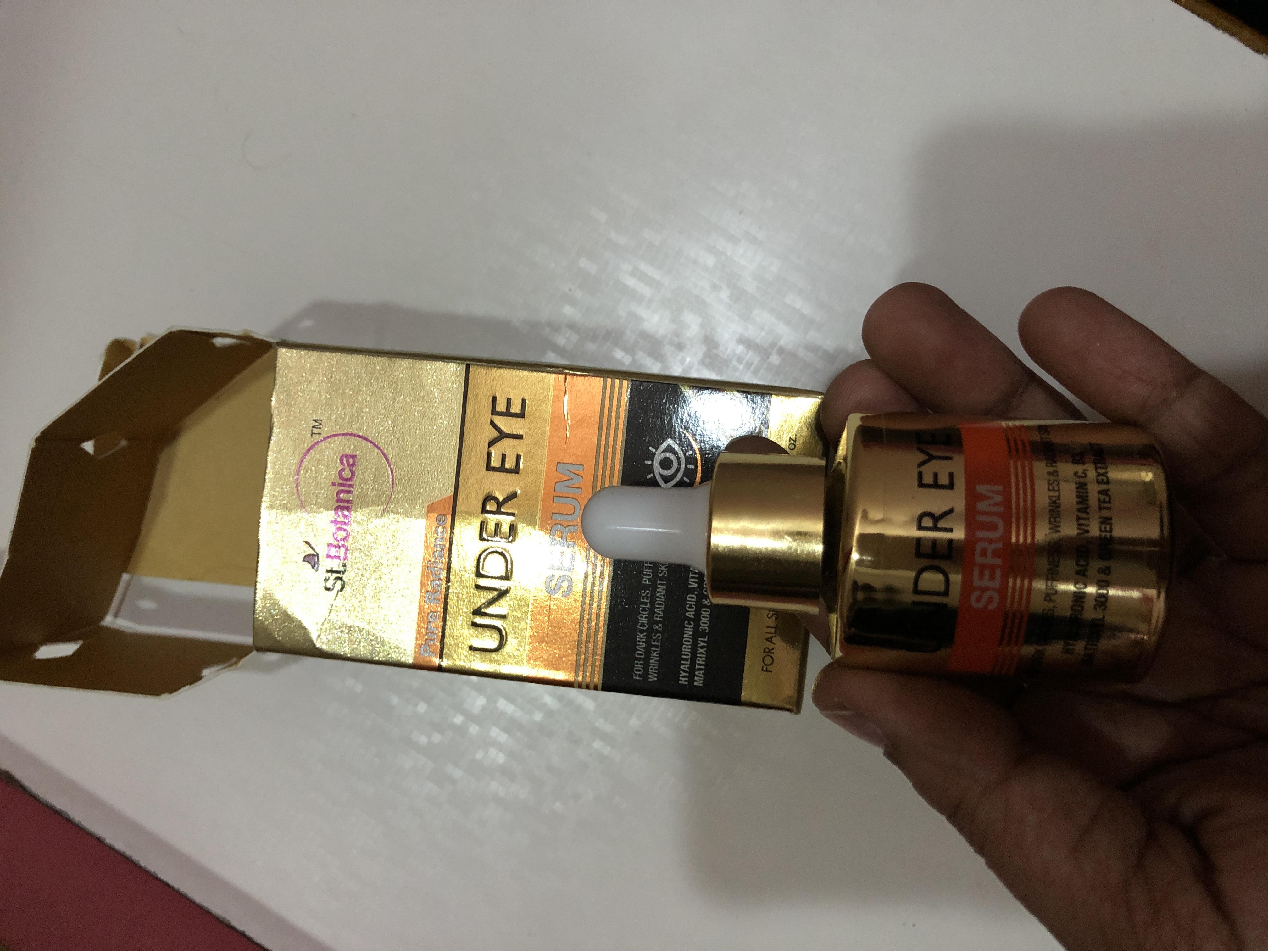 StBotanica Pure Radiance Under Eye Serum-Best serum for under eyes dark circles-By rsairajeswari