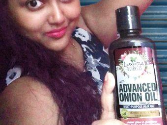 Luxura Sciences Advanced Onion Oil 250 ml -My favourite hair oil-By binatatrisha