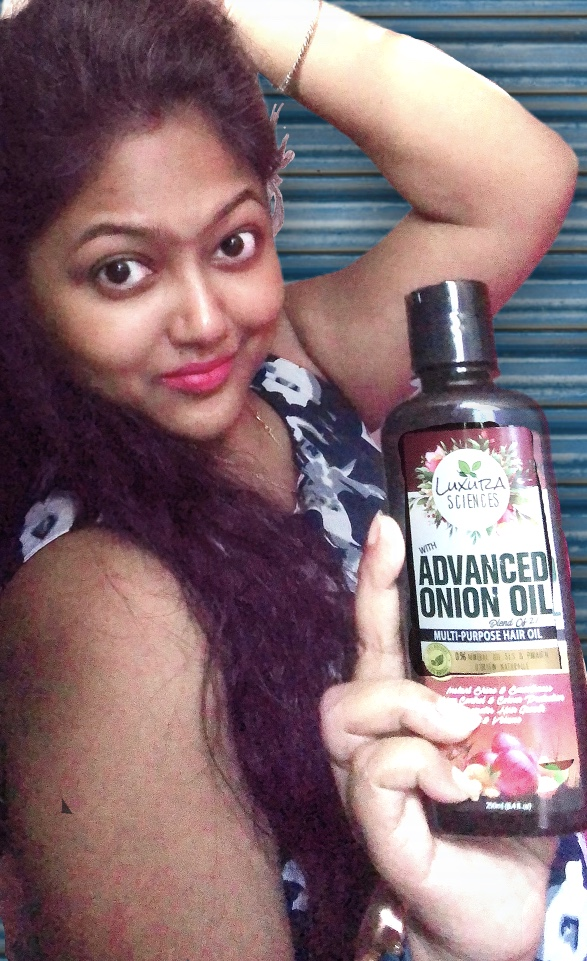 Luxura Sciences Advanced Onion Oil 250 ml-My favourite hair oil-By binatatrisha