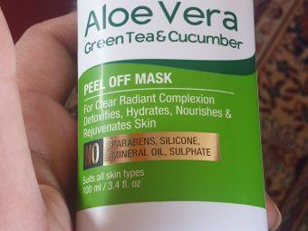 Oriental Botanics Aloe Vera, Green Tea & Cucumber Peel Off Mask -Amazing Peel Off Mask-By ruchi2010