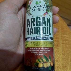 Luxura Sciences Argan Hair Oil 200 ml pic 1-Lightweight and reduces hair fall-By _.undiscovered
