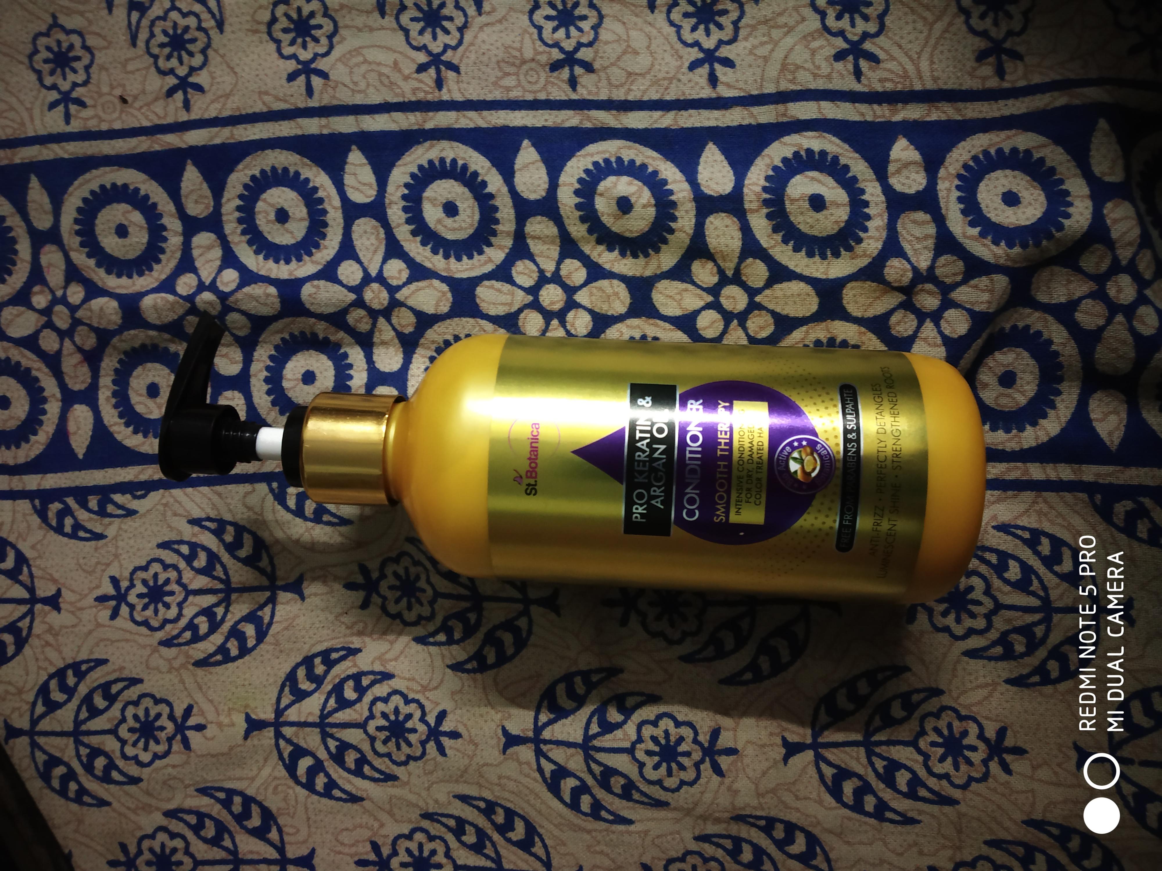 StBotanica Pro Keratin & Argan Oil Conditioner-Amazing product dry hair-By priyadarshini_08