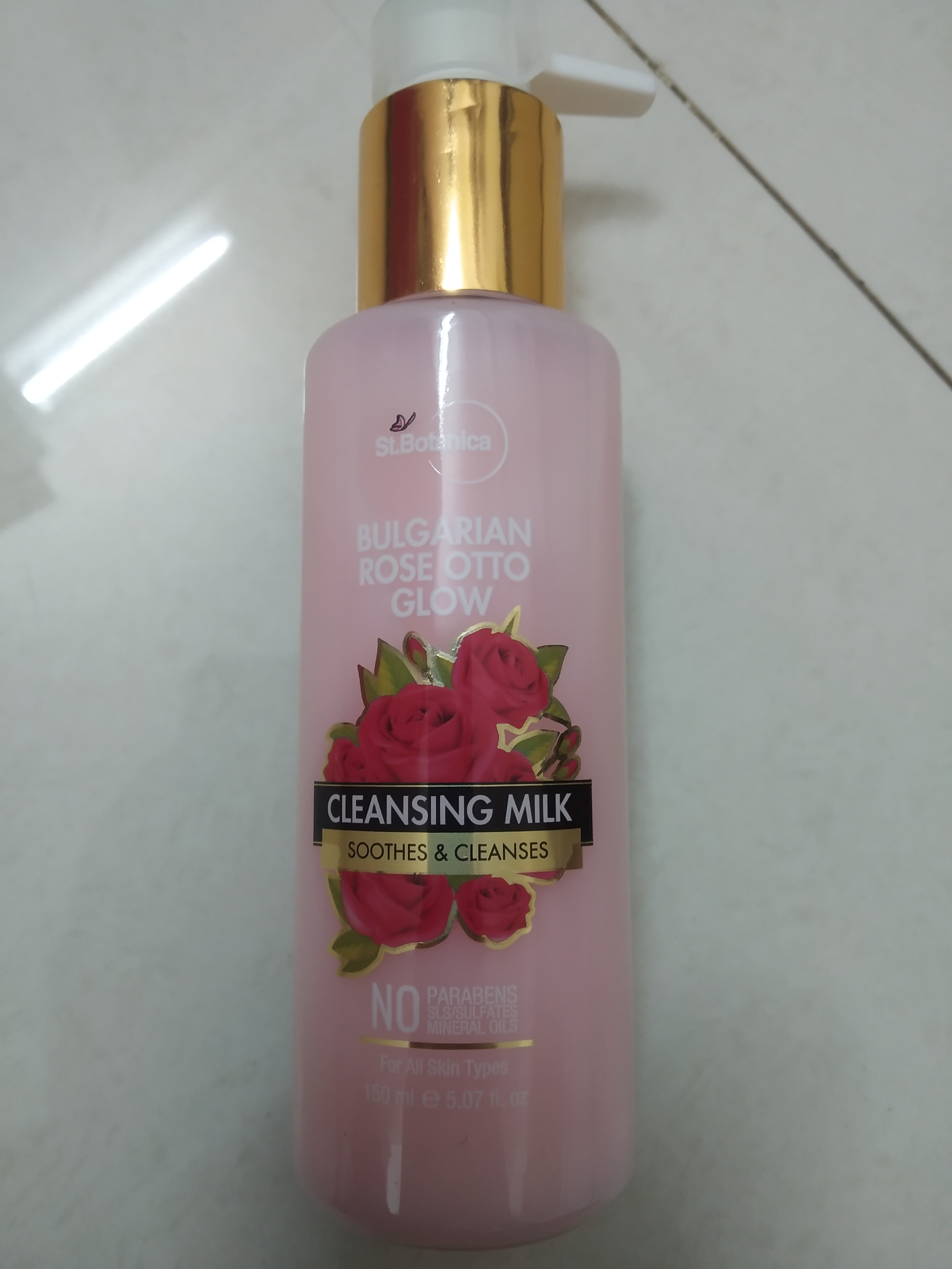 StBotanica Bulgarian Rose Otto Glow Cleansing Milk pic 1-cleansing milk-By vrutti