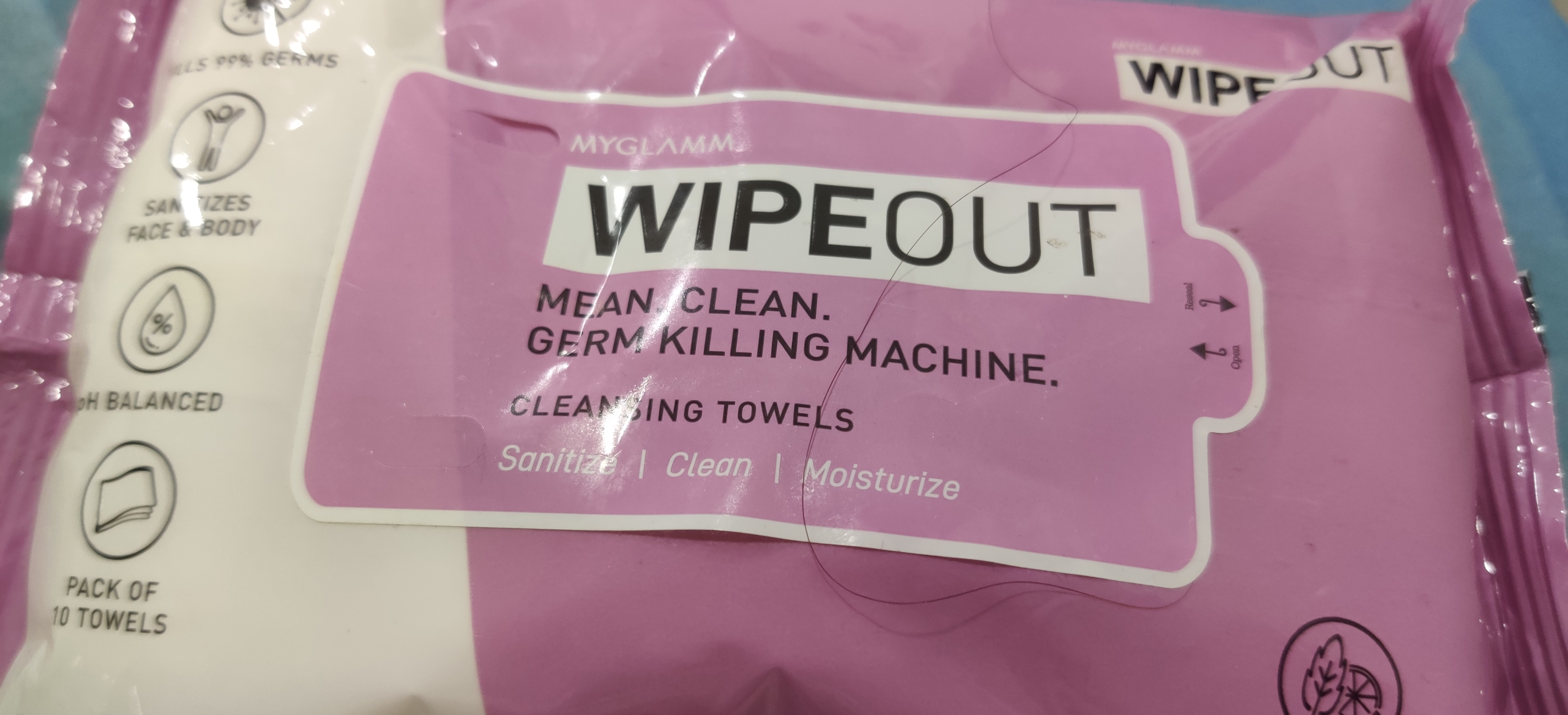 MyGlamm Wipeout Cleansing Towels-Wipeout-By shalini_bhatia-1