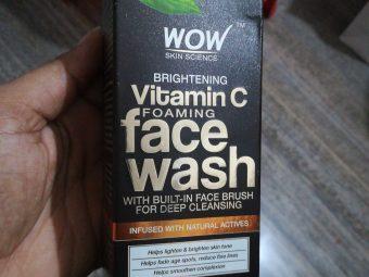 WOW Skin Science Brightening Vitamin C Face Wash -Best Brightening facewash-By vaishnavi11