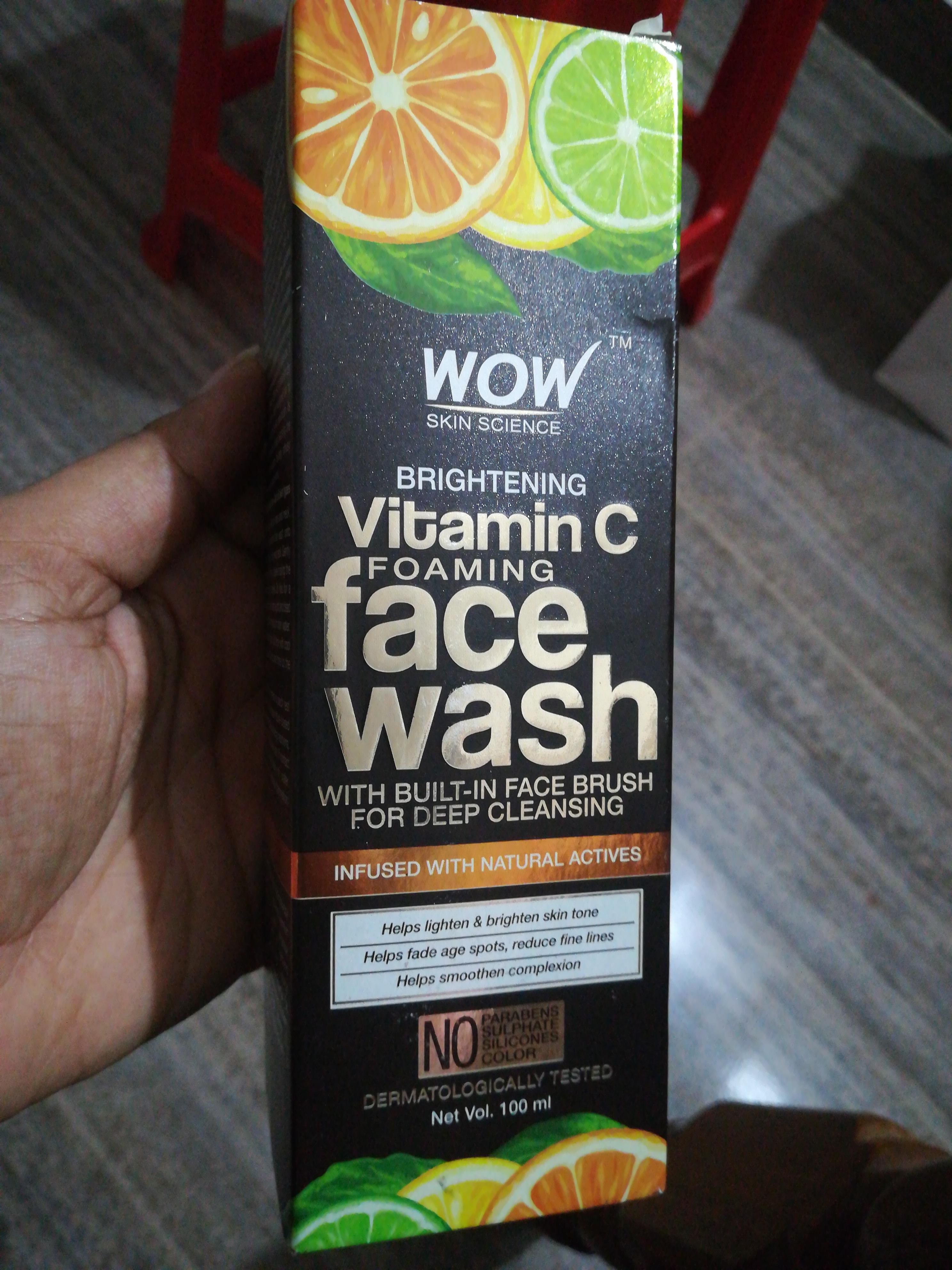 WOW Skin Science Brightening Vitamin C Face Wash-Best Brightening facewash-By vaishnavi11