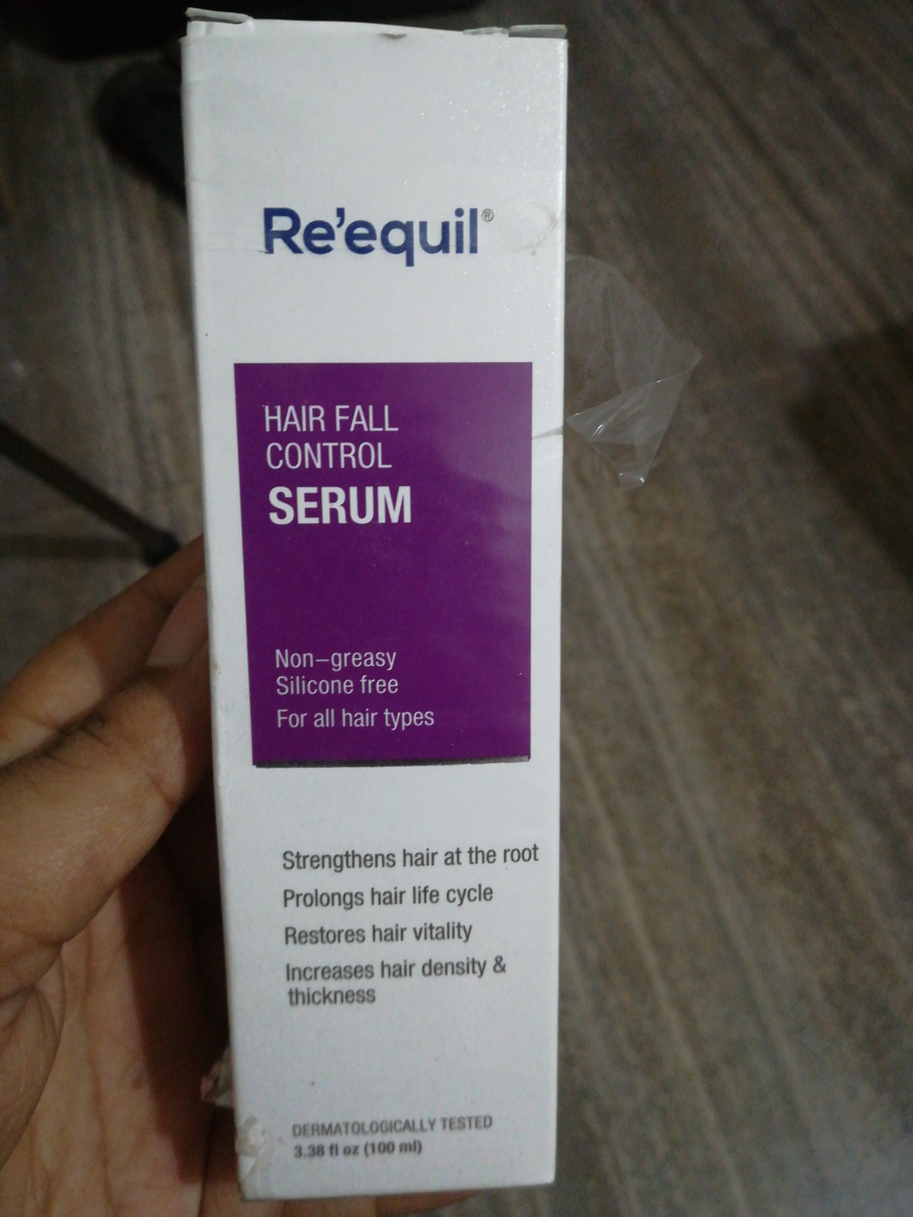 Re'equil Hair Fall Control Serum-Best serum for all hair types-By vaishnavi11