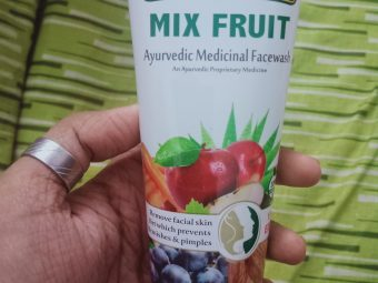 Roop Mantra Mix Fruit Face Wash pic 1-Makes the face fresh.-By geethuthomas24