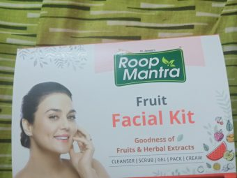 Roop Mantra Fruit Facial Kit pic 2-Best Fruity Facial kit-By geethuthomas24