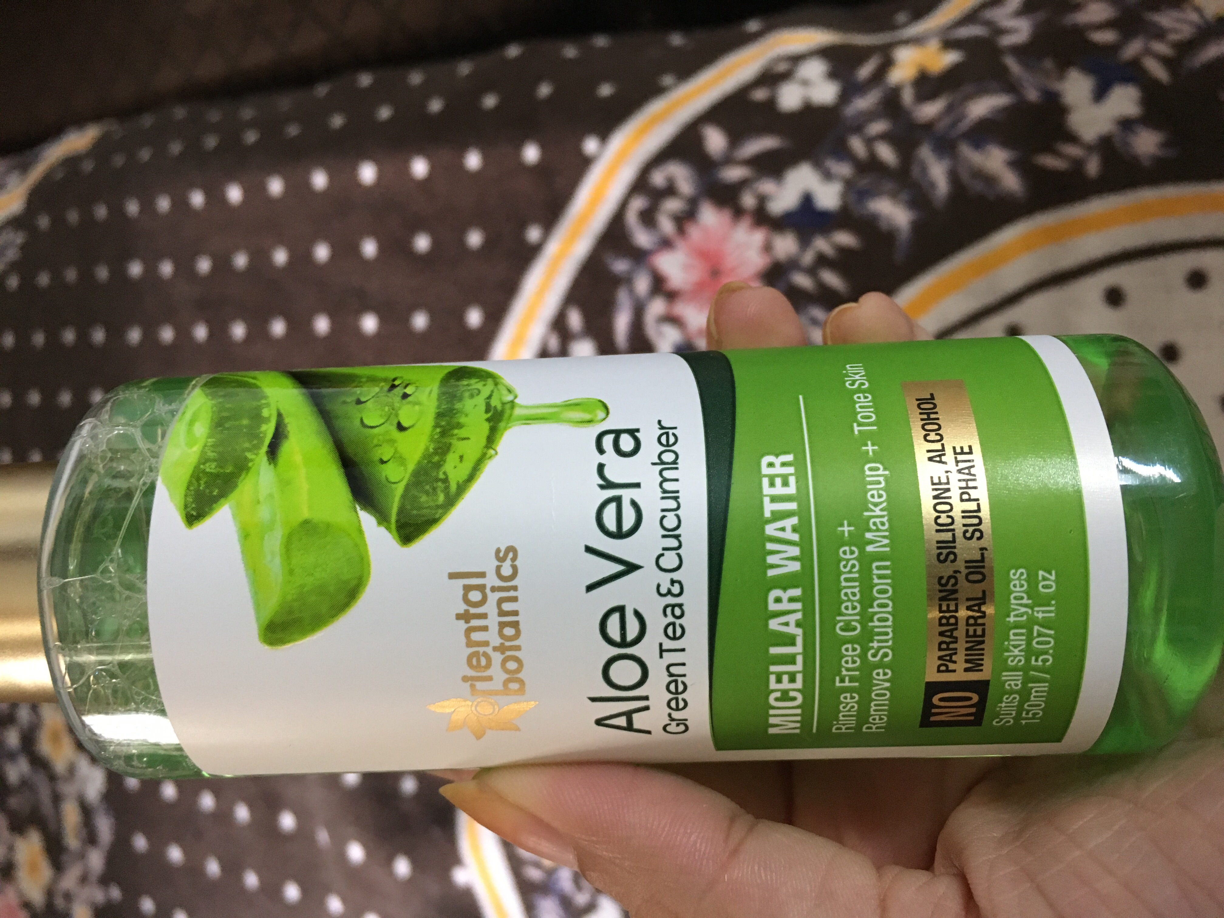 Oriental Botanics Aloe Vera, Green Tea & Cucumber Micellar Water-Love it-By pooja04
