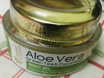 Oriental Botanics Aloe Vera, Green Tea & Cucumber Night Gel -Best Night gel for the skin-By azad.sherni