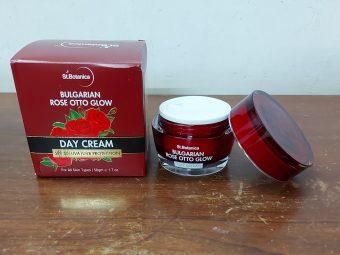 St.Botanica Bulgarian Rose Otto Glow Day Cream -Great Consistency Cream-By smrutiathalye