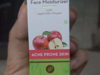 Mamaearth Oil Free Face Moisturizer With Apple Cider Vinegar pic 2-Best moisturizer-By manpreet1