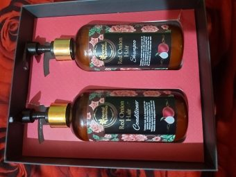 Oriental Botanics Red Onion Hair Shampoo + Conditioner Kit pic 2-Highly recommended-By sonatips