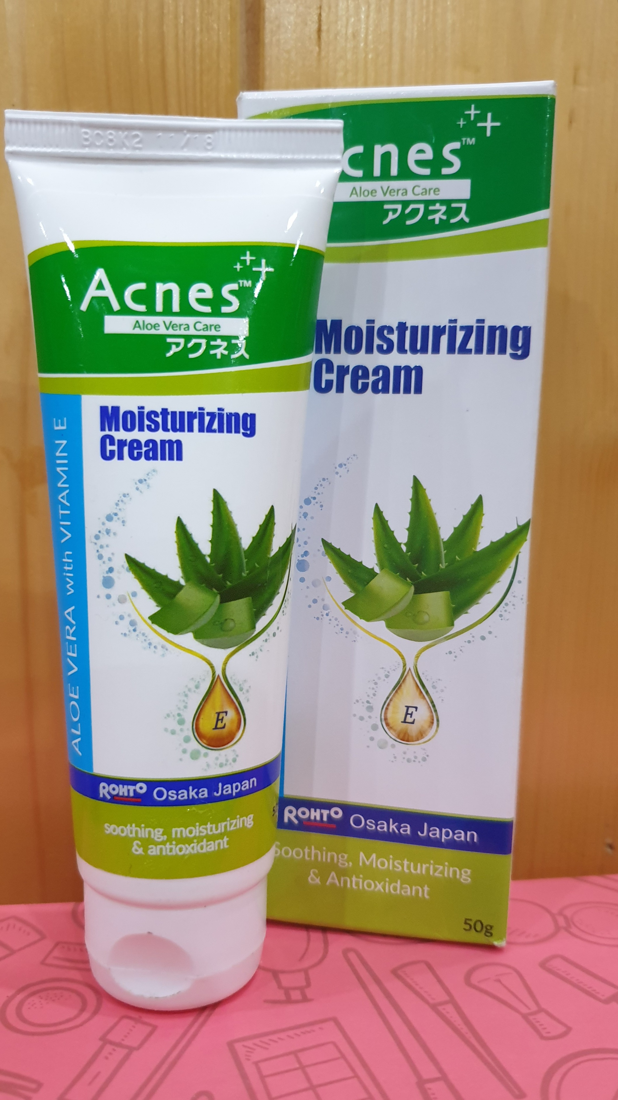 Acnes Aloe Vera With Vitamin E Moisturizing Cream-Perfect moisturizer!-By neha2026