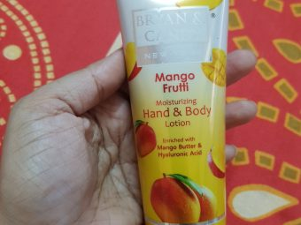 Bryan & Candy New York Mango Frutti Hand and Body Lotion -Suitable for my dry skin-By neha1210