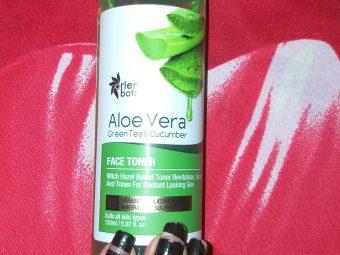 Oriental Botanics Aloe Vera, Green Tea & Cucumber Face Toner pic 3-My everyday freshness = TONER-By khushb00.pal