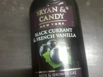 Bryan & Candy New York Black Currant and French Vanilla Shower Gel -Awesome-By chanchalnarula