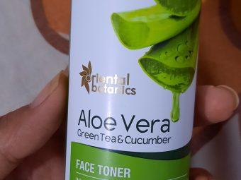 Oriental Botanics Aloe Vera, Green Tea & Cucumber Face Toner -Best Freshness Toner-By mutastylogenic