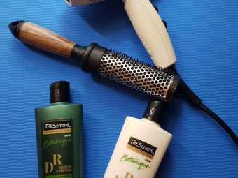 Tresemme Botanique Detox and Restore Conditioner -Light weight, so great for limp and flat hair.-By krishnapriya_kondi