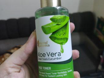 Oriental Botanics Aloe Vera, Green Tea & Cucumber Face Toner -Nice refreshing toner-By divya_bhatia