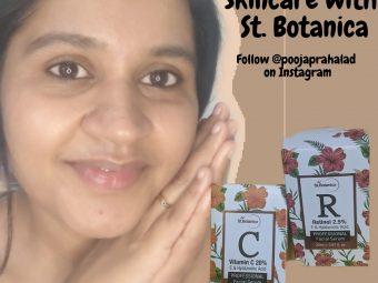 St.Botanica Retinol 2.5% Vitamin E & Hyaluronic Acid Professional Facial Serum -Perfect for my dry skin-By pooja_prahlad