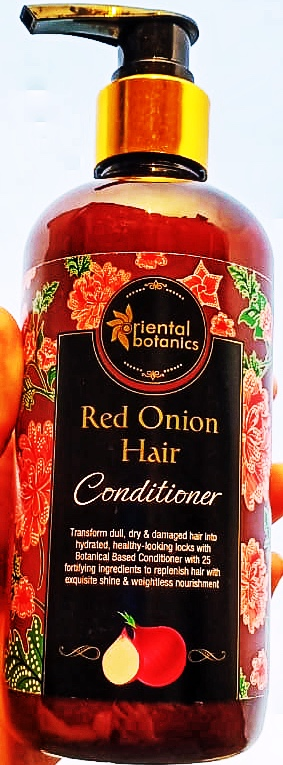 Oriental Botanics Red Onion Hair Shampoo + Conditioner Kit-Best Product in this range-By madoverfood_official-2
