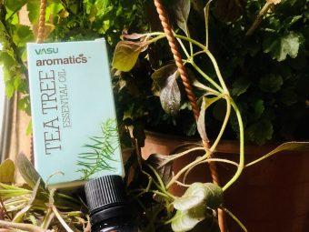 Vasu Aromatics Tea Tree Essential Oil -Soothing Tea Tree Oil-By poojakj