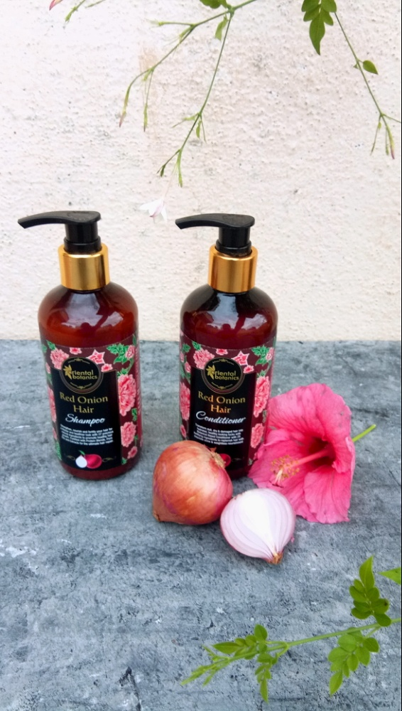 Oriental Botanics Red Onion Hair Conditioner-Amazing for dry, curly hair-By rajani_sr