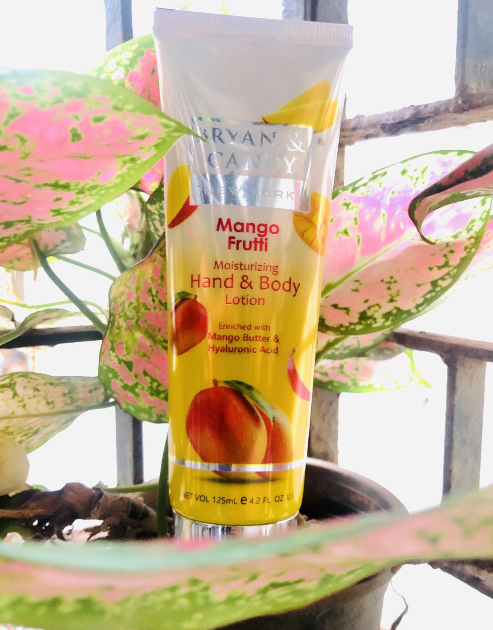 Bryan & Candy New York Mango Frutti Hand and Body Lotion-Mango Bliss-By poojakj
