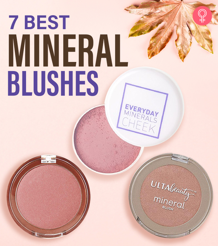 7 Best Mineral Blushes To Try Out In 2020