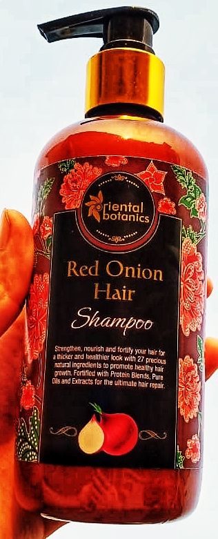 Oriental Botanics Red Onion Hair Shampoo + Conditioner Kit-Best Product in this range-By madoverfood_official-1