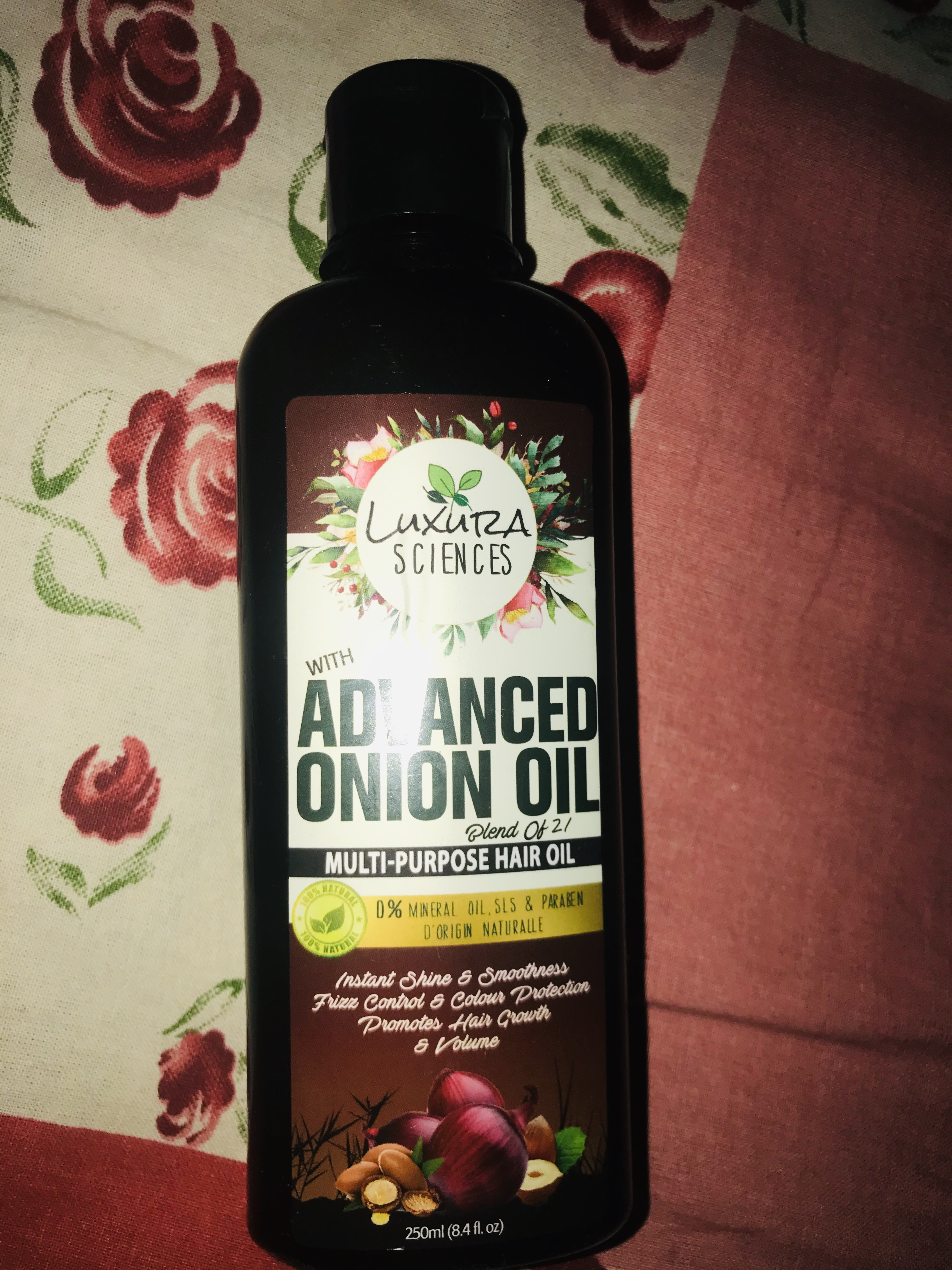Luxura Sciences Advanced Onion Oil 250 ml-Superb product really effective, Must buy-By azad.sherni