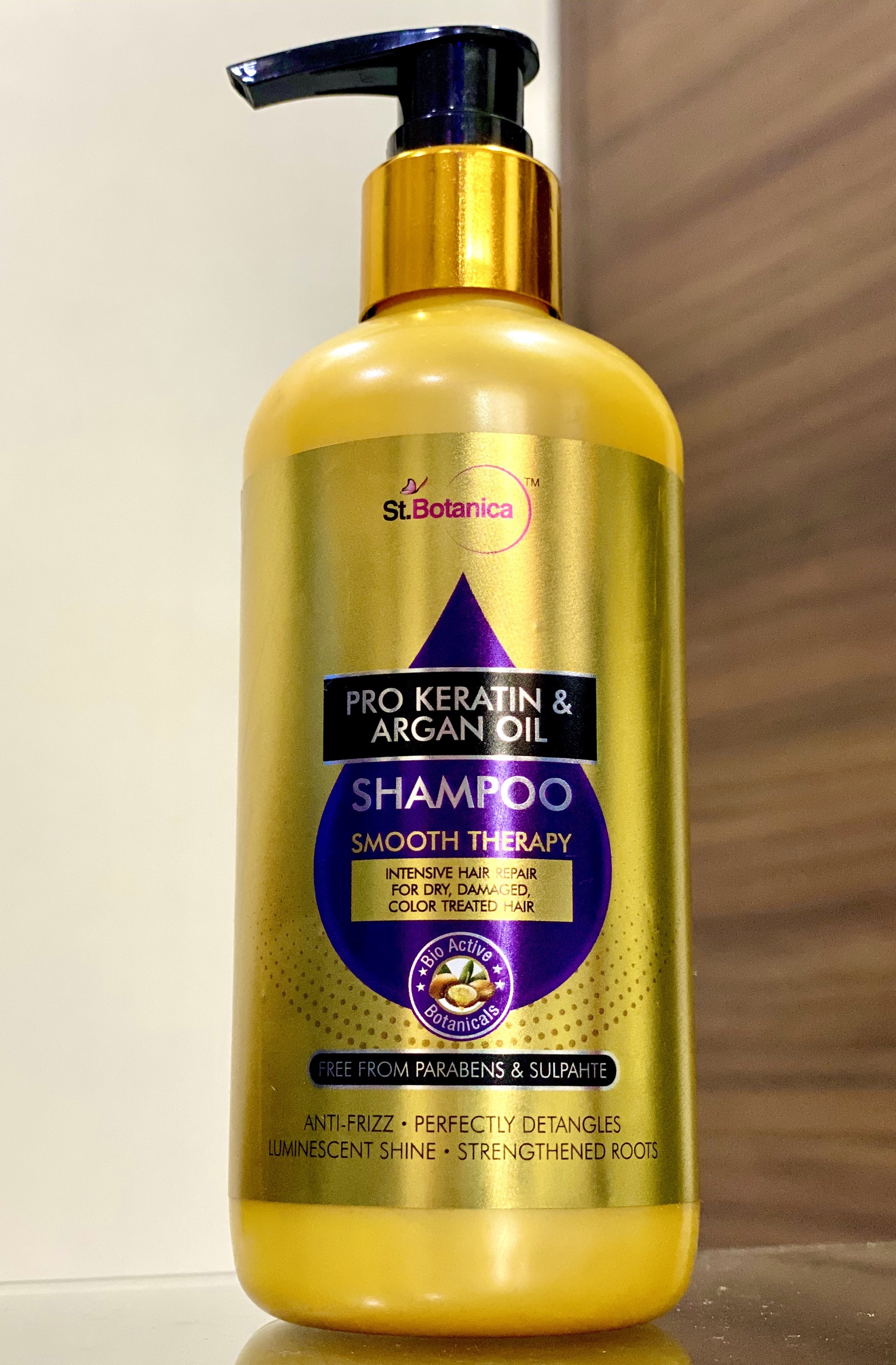St.Botanica Pro Keratin & Argan Oil Shampoo-WONDERFUL PRODUCT-By yogita_parmar