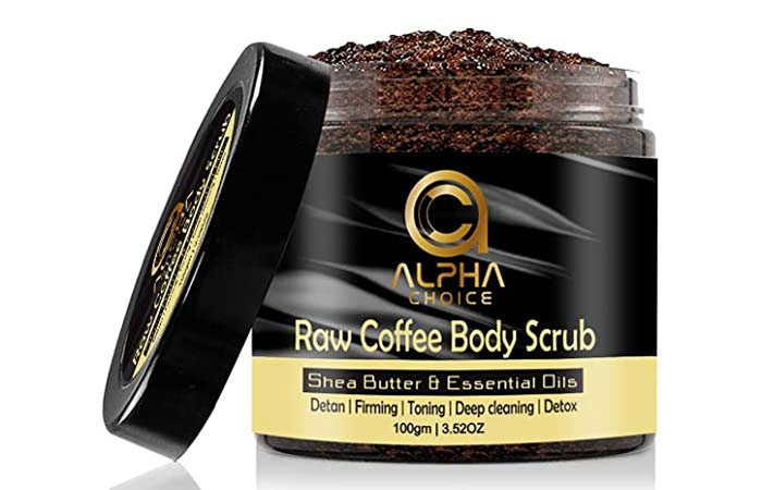 Alpha Choice Raw Coffee Body Scrub