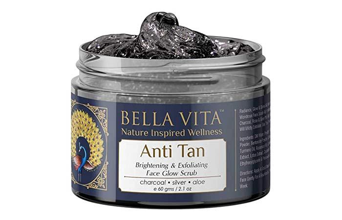 Bela Vita Anti Tan Brightening & Exfoliating Face Glow Scrub