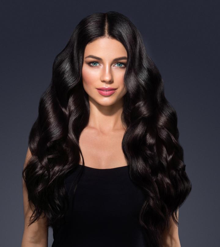 Get The Seductive Jet-Black Hair The Organic Way