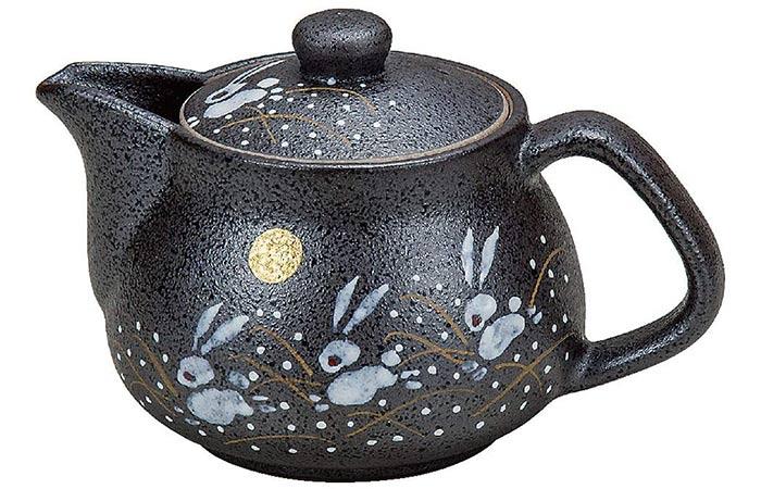Kutani I Rabbit Pottery Teapot