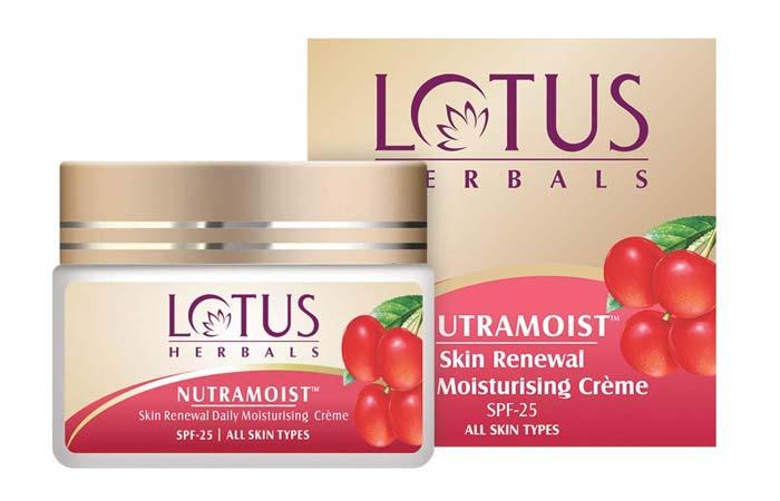 Lotus Herbals Nutramoist Skin Renewal Daily Moisturising Creme