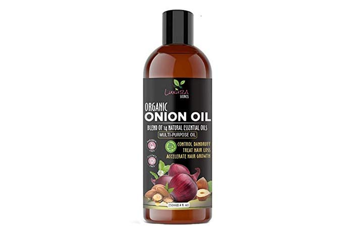 Luxura Sciences Onion Hair Oil ML with 14 Essential Oils