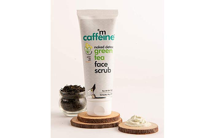 M Caffeine Naked Detox Green Tea Face Scrub