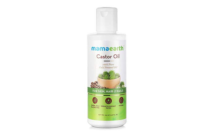 Mamaearth 100% Pure Castor Oil, Cold Pressed, To Support Hair Growth
